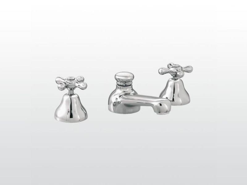 3 hole chrome-plated bathtub tap ROMA | 3256 - RUBINETTERIE STELLA