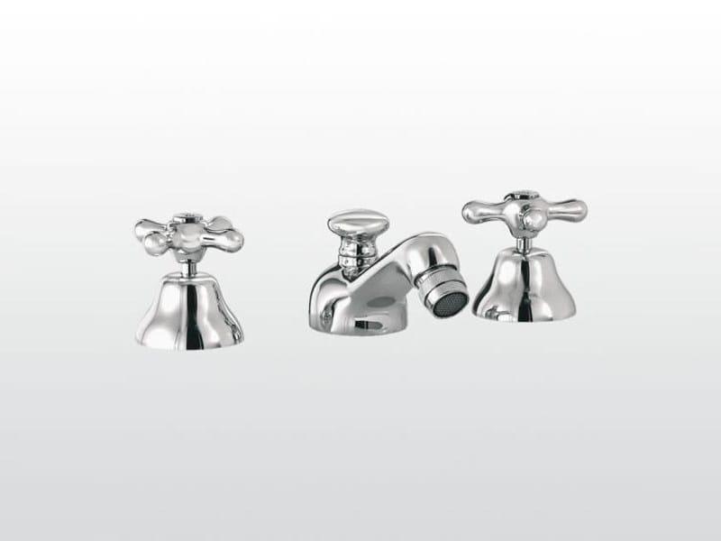 3 hole bidet tap with swivel spout ROMA   3601 - RUBINETTERIE STELLA