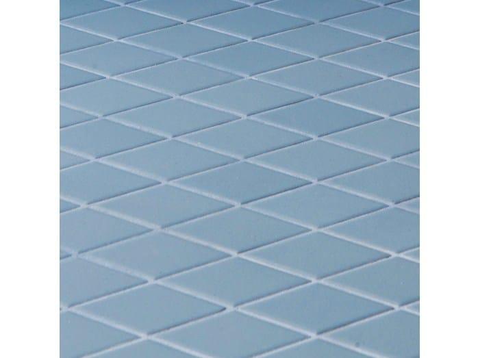 Porcelain stoneware wall/floor tiles ROMBINI LOSANGE BLUE by MUTINA