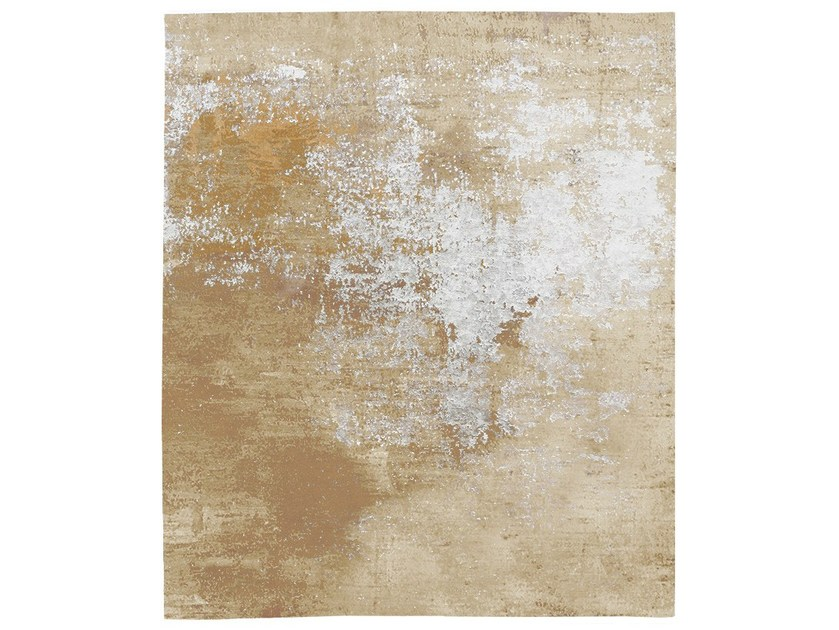 Handmade rug ROSDALA DIAMOND DUST - HENZEL STUDIO