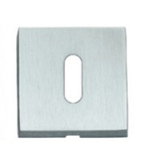 Square keyhole escutcheon 50QT | Keyhole escutcheon - Frascio