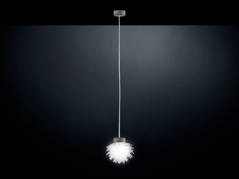 LED Murano glass pendant lamp ROSTRO | Pendant lamp by VGnewtrend