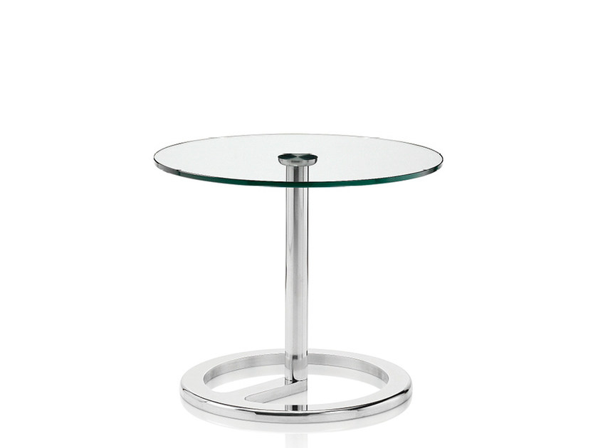 Round glass coffee table ROTA | Glass coffee table - Boss Design