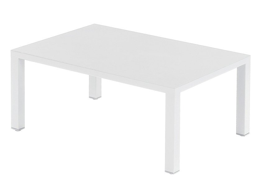 Low rectangular coffee table ROUND - EMU Group S.p.A.
