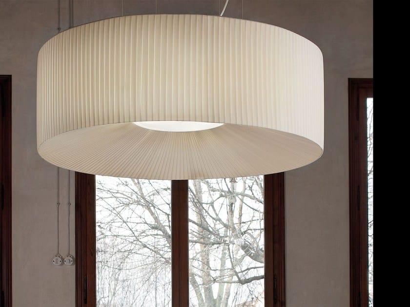 Direct light fabric pendant lamp ROUND | Pendant lamp by Masiero