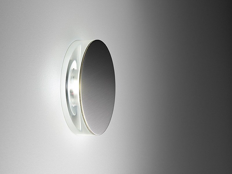 LED stainless steel steplight Round by PURALUCE