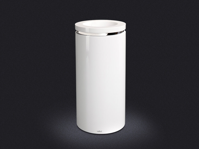 Resin waste bin ROUND RING | Waste bin - Vallvé Bathroom Boutique