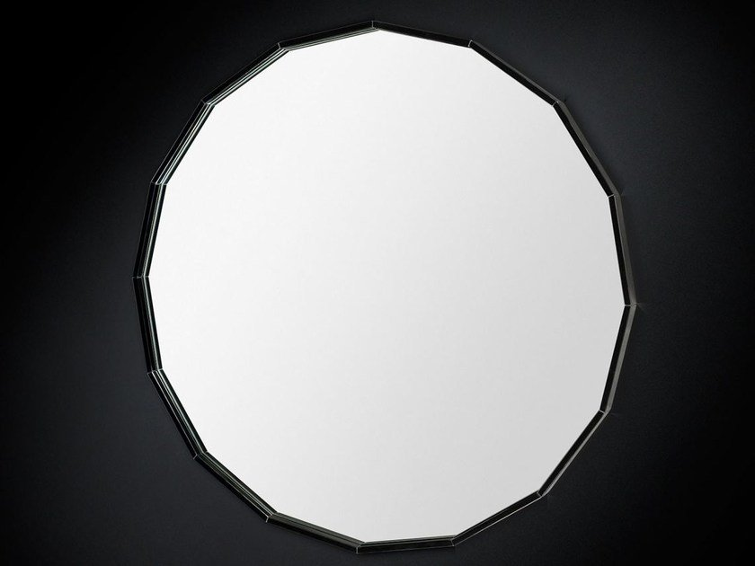 Wall-mounted round hall mirror ROUND - VGnewtrend