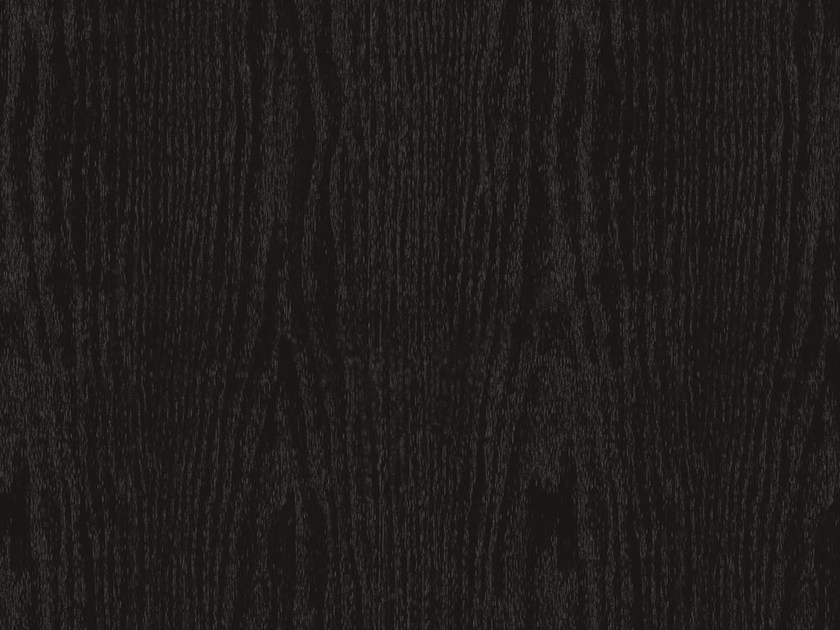 Self adhesive plastic furniture foil with wood effect BLACK OAK OPAQUE - Artesive