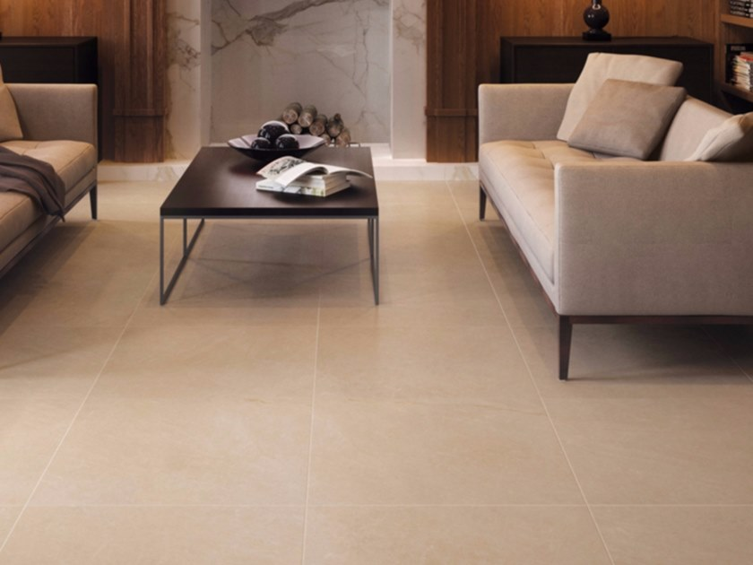 Full-body porcelain stoneware flooring with marble effect ROYAL - Ceramiche Marca Corona