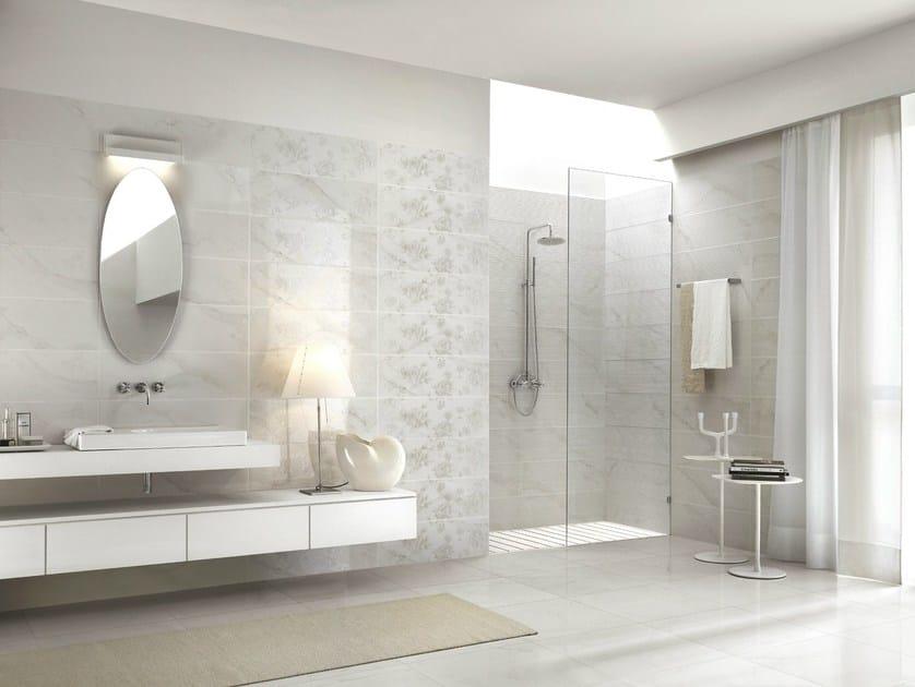 Rivestimento in gres porcellanato effetto marmo royale - Mattonelle bagno ragno ...