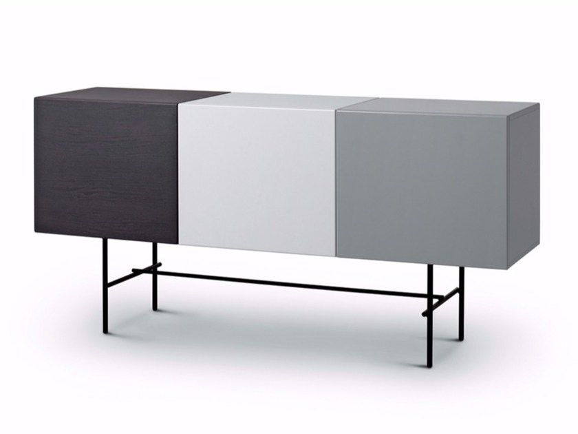 Lacquered sideboard with doors RUBYCON | Lacquered sideboard - arflex