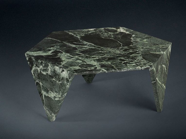 Low marble coffee table for living room RUCHE | Marble coffee table - VGnewtrend