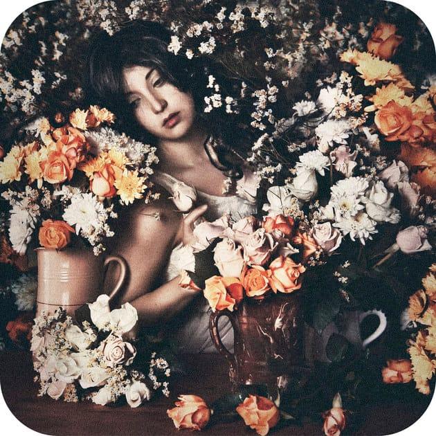 Polyamide rug ROSE GARDEN - Mineheart