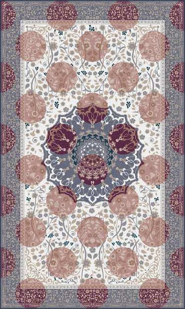 Tappeto in poliammide PRINCELY PURPLE - Mineheart