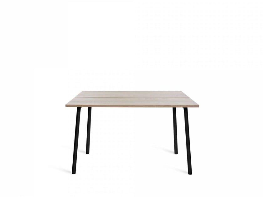 Rectangular aluminium table RUN | Table - Emeco