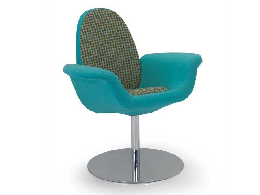 Swivel easy chair with armrests RUPP | Easy chair by Adrenalina