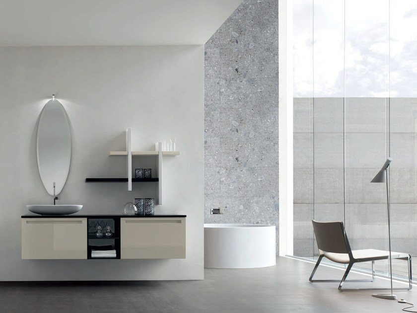 Sistema bagno componibile RUSH - COMPOSIZIONE 16 - Arcom