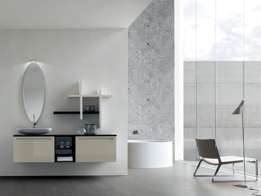 Bathroom cabinet / vanity unit RUSH - COMPOSITION 16 - Arcom