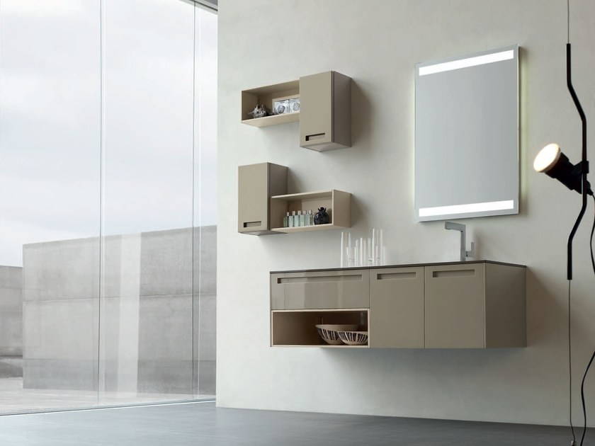 Bathroom cabinet / vanity unit RUSH - COMPOSITION 17 - Arcom