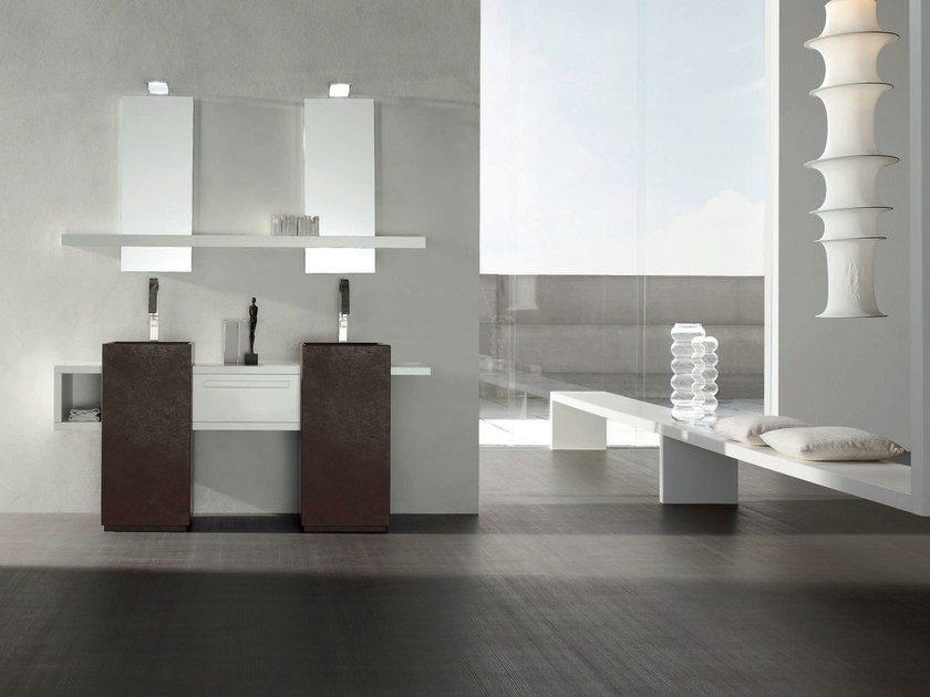 Bathroom cabinet / vanity unit RUSH - COMPOSITION 21 by Arcom