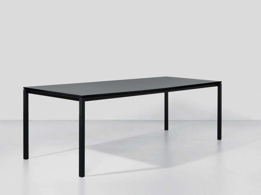 Tavolo rettangolare in HPL S600 | Tavolo in HPL - Janua