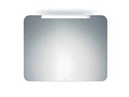 Wall-mounted bathroom mirror with integrated lighting S0064 | Mirror by INDA®