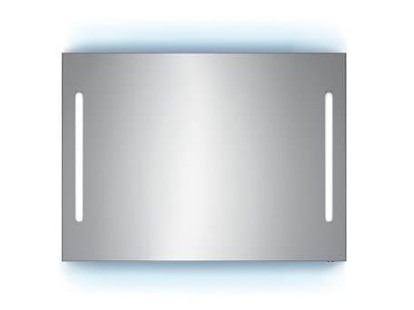 Specchio a parete con illuminazione integrata per bagno S3613 | Specchio by INDA®