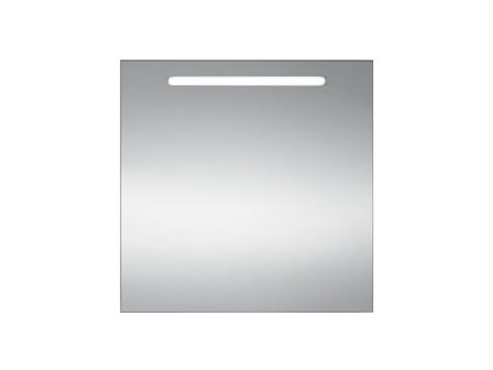 Wall-mounted bathroom mirror with integrated lighting S3813 | Mirror by INDA®