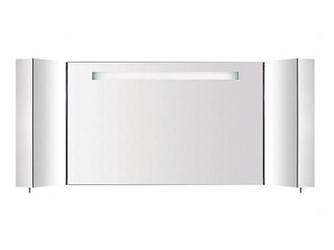 Specchio a parete con contenitore per bagno S401740-S401860 | Specchio - INDA®