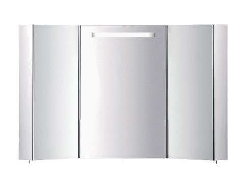 Wall-mounted bathroom mirror with cabinet S401750-S401900 | Mirror - INDA®