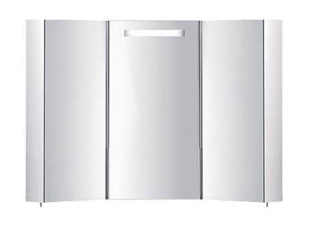 Specchio a parete con contenitore per bagno S401880-S401890 | Specchio - INDA®