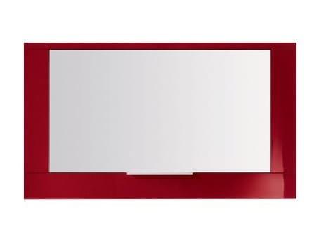 Specchio a parete con contenitore per bagno S4510 | Specchio - INDA®