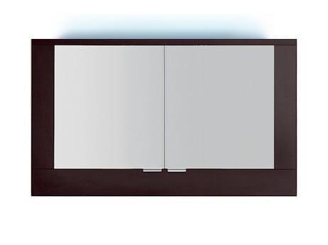 Specchio a parete con illuminazione integrata per bagno S5520-553040 | Specchio by INDA®