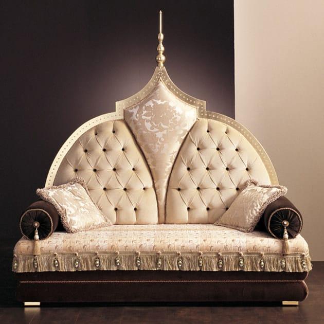 Tufted upholstered fabric sofa S69 | Sofa - Rozzoni Mobili d'Arte