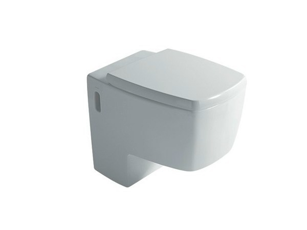 Semi wall-hung w.c. SA.02 | Ceramic toilet - GALASSIA