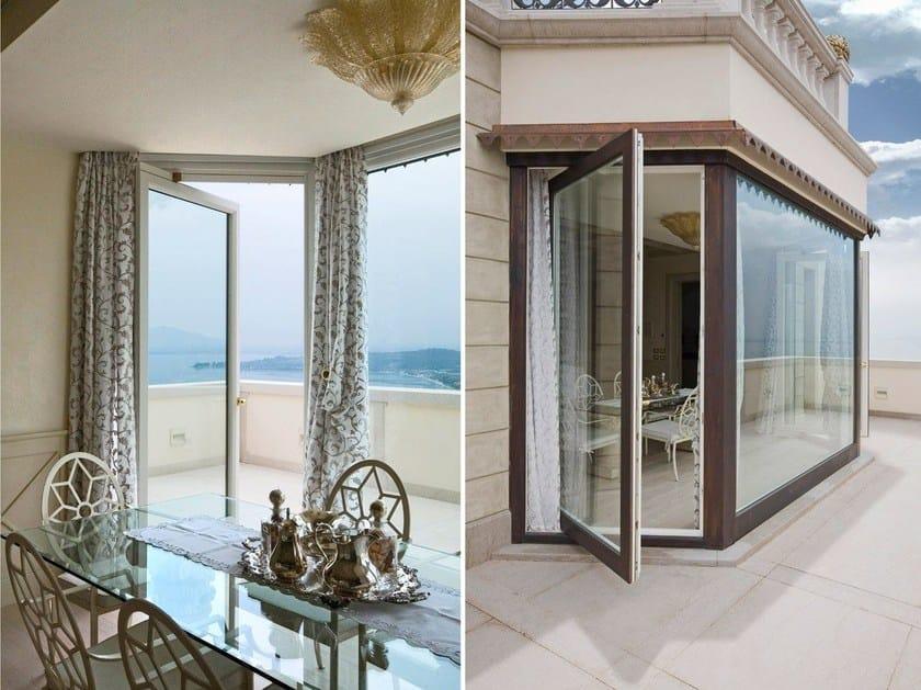 Finestra a bilico in alluminio e legno sa91 finestra a bilico capoferri serramenti - Finestra a bilico ...