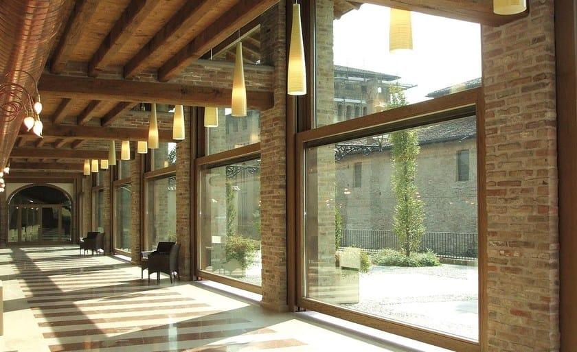 Finestra in alluminio e legno a ghigliottina sa91 finestra a ghigliottina capoferri serramenti - Finestre a ghigliottina ...