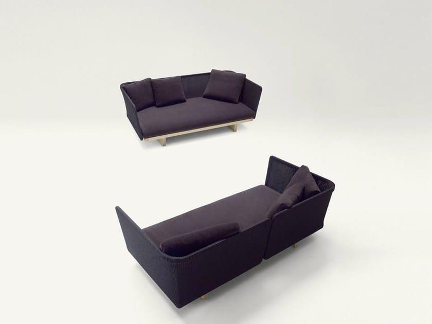 2 seater garden sofa SABI | 2 seater sofa - Paola Lenti