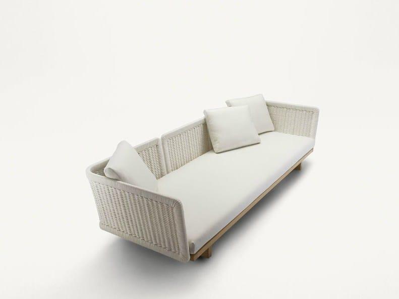 3 seater garden sofa SABI | 3 seater sofa - Paola Lenti