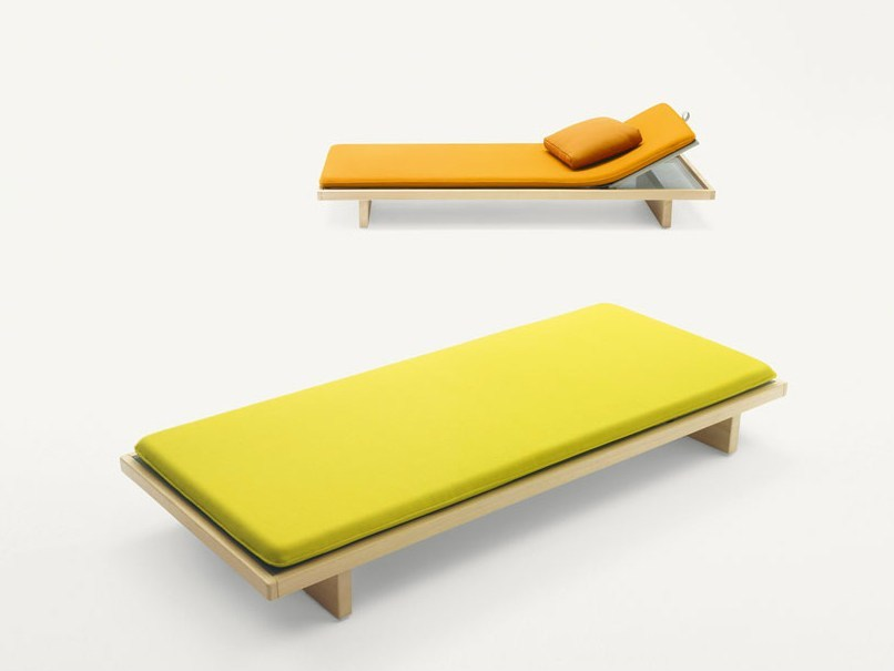 Recliner garden daybed SABI | Garden daybed by Paola Lenti