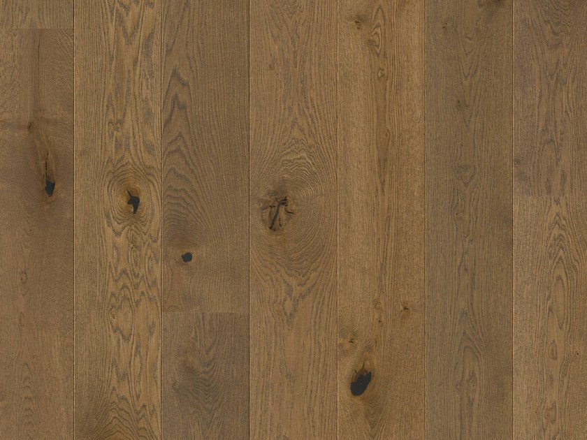 Brushed oak parquet SADDLE BROWN OAK by Pergo