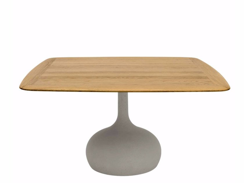 Square wooden table SAEN 1400 - SN1 | Wooden table - Alias