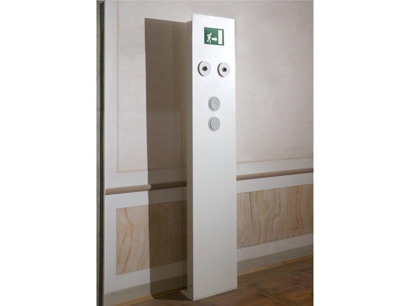 Luce di emergenza per segnaletica in alluminio SAFE SYSTEM - GLIP by S.I.L.E
