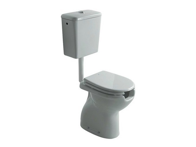 Toilet for disabled with external cistern SAGITTARIO | Toilet for disabled by GALASSIA