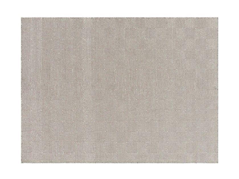 Patterned wool rug SAIL | Rug by GAN