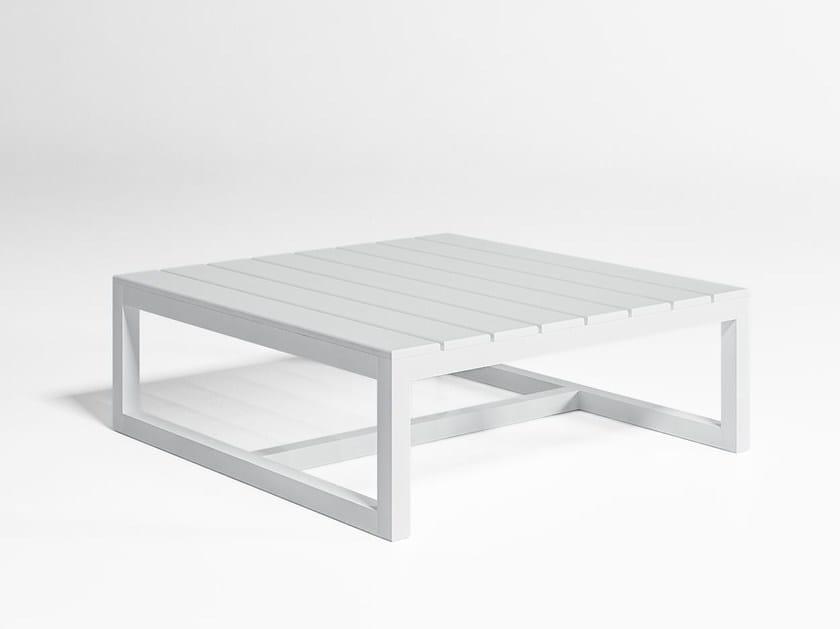 Square garden side table SALER | Square coffee table by GANDIA BLASCO