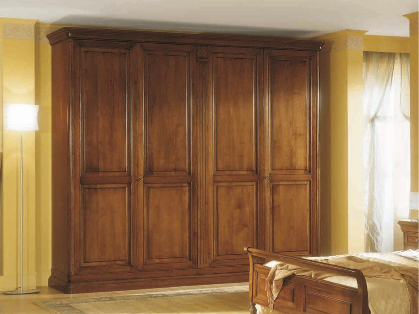 Solid wood wardrobe SALIERI | Wooden wardrobe by Arvestyle