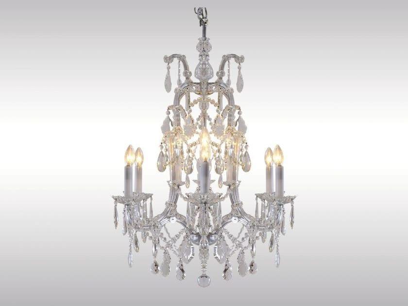 Classic style crystal chandelier SALON LUSTER 1910 - Woka Lamps Vienna