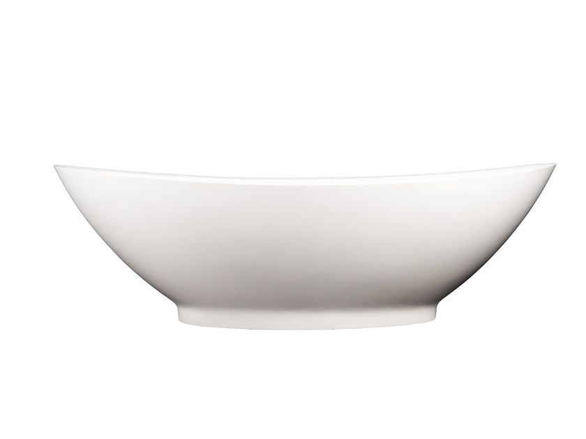 Freestanding Solid Surface® bathtub SAN MARCO by 7Baths